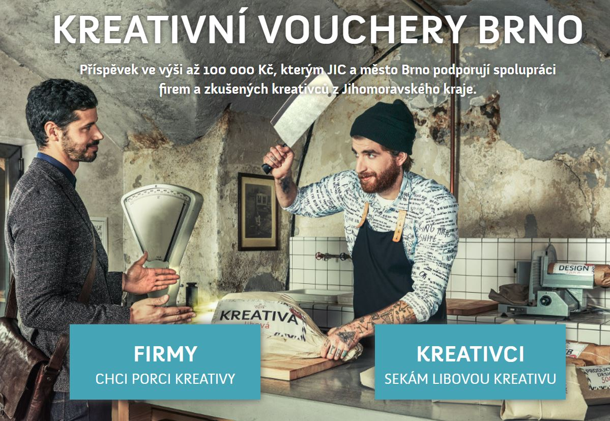 kreativni voucher brno gnomon