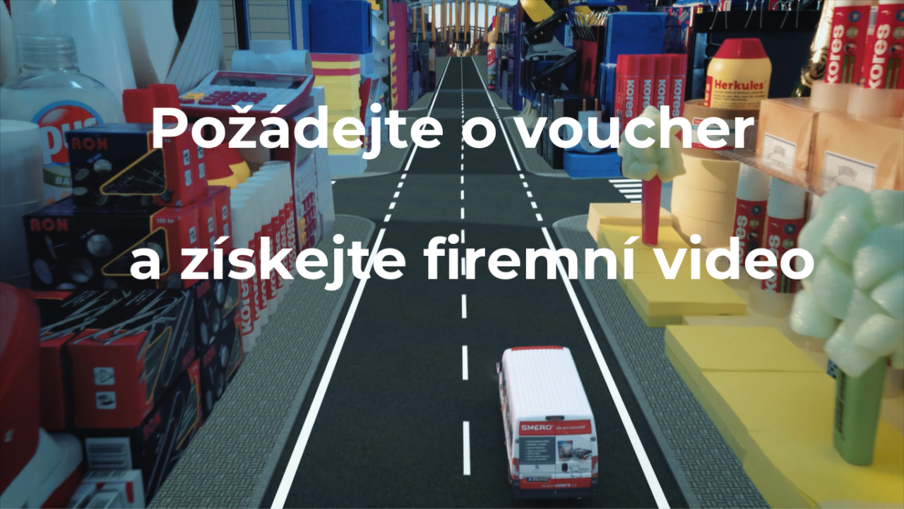 voucher, firmy, video